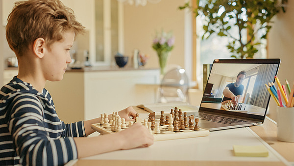 board, boy, chess, child, computer, concentrated, connection, e education, e learning, education, entertainment, family, fun, game, happy, home, home schooling, homeschooling, intellectual, intelligence, internet, kid, laptop, learn, lecture, lecturer, lesson, man, online, online education, people, play, player, portrait, pupil, remotely, schoolchild, screen, side, skill, strategy, student, study, studying, success, tactics, talented, teacher, teaching, technology, tournament, video call, young